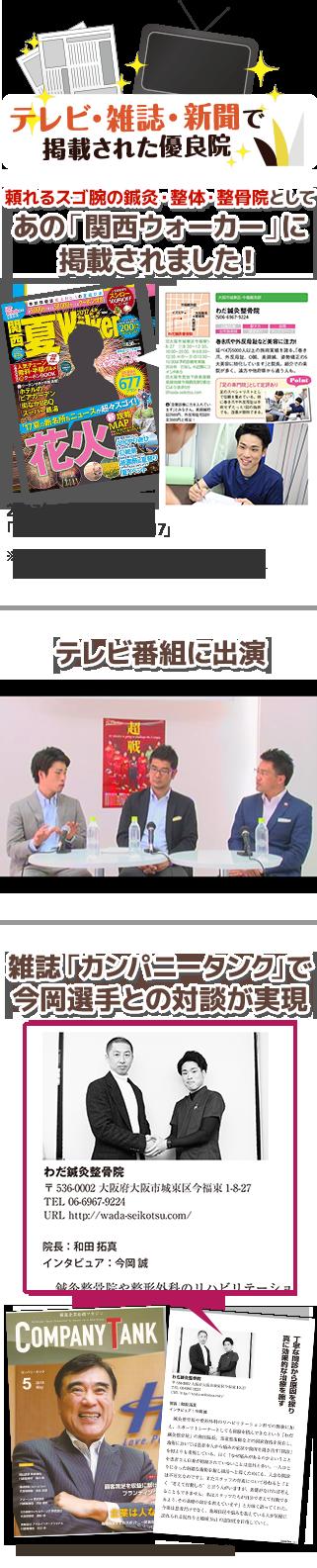 メディア掲載(テレビ新聞雑誌)